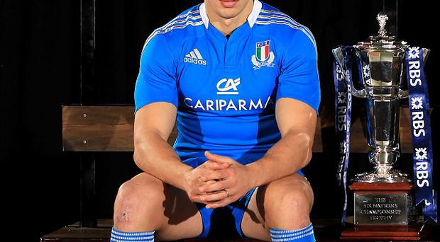 Sergio Parisse believes Italy are the underdogs for their Edinburgh encounter with Scotland