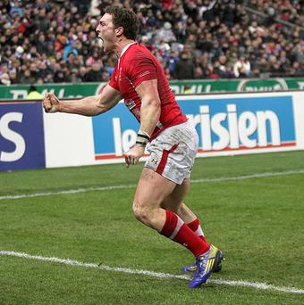 George North scored the only try of the game for Wales