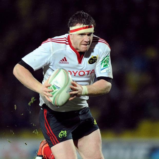 Mike Sherry crossed over as Munster beat Edinburgh