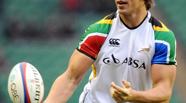 Eben Etzebeth is set for a spell on the sidelines