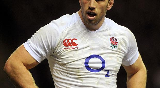 Chris Robshaw put in a man-of-the-match display in the win against Ireland