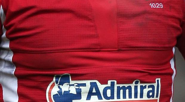 Admiral has extended its sponsorship deal with Wales until 2015