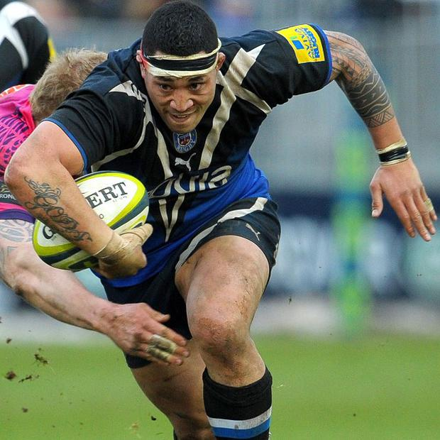Anthony Perenise scored Bath's final try