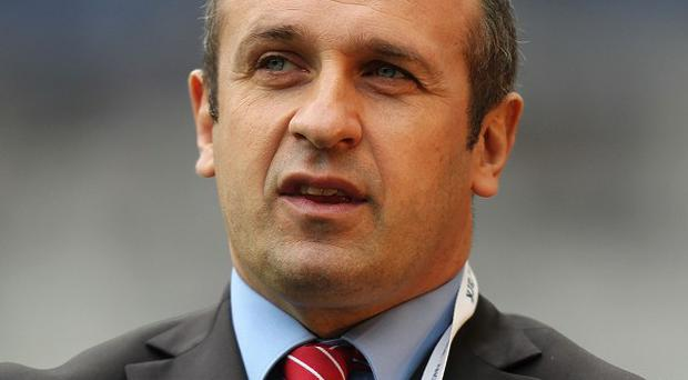 Philippe Saint-Andre says the RBS 6 Nations clash with England is France's 'Grand Slam' match