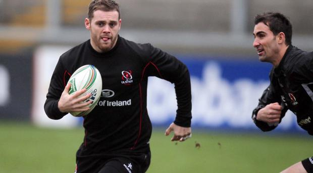 Darren Cave could be a natural successor to Brian O'Driscoll when the Irish legend retires