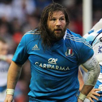 Martin Castrogiovanni takes over the Italy captaincy against Wales at the Stadio Olimpico