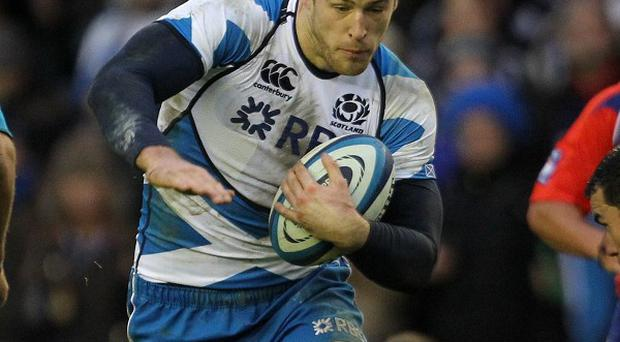 Tim Visser has contributed four tries for Scotland so far this RBS 6 Nations Championship