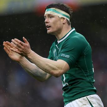 Brian O'Driscoll, pictured, insists Ireland's Paddy Jackson can cope with the pressure