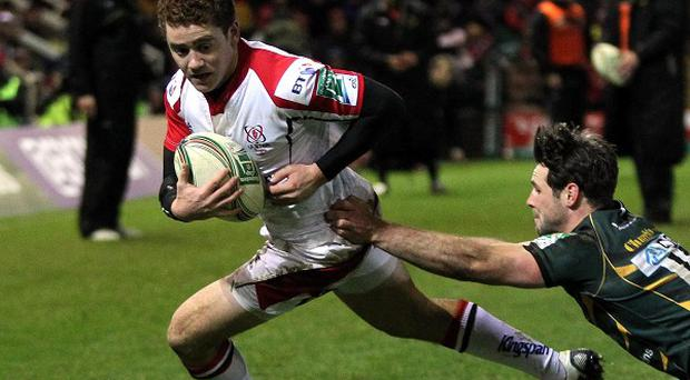 Paddy Jackson, pictured left, and Luke Marshall impressed during last autumn's international against Fiji