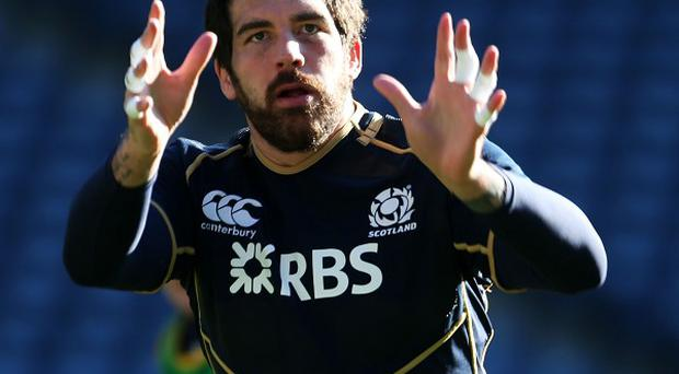 Jim Hamilton is refusing to look to the past as Scotland prepare to face Ireland