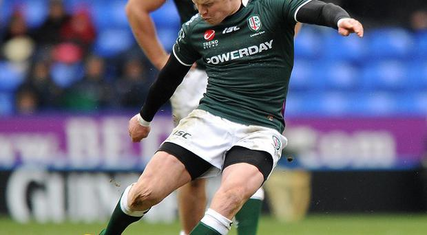 Tom Homer booted 20 points as London Irish downed Wasps