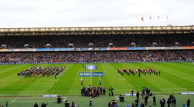 The SRU have sold all 67,114 tickets for the Scotland-Wales game