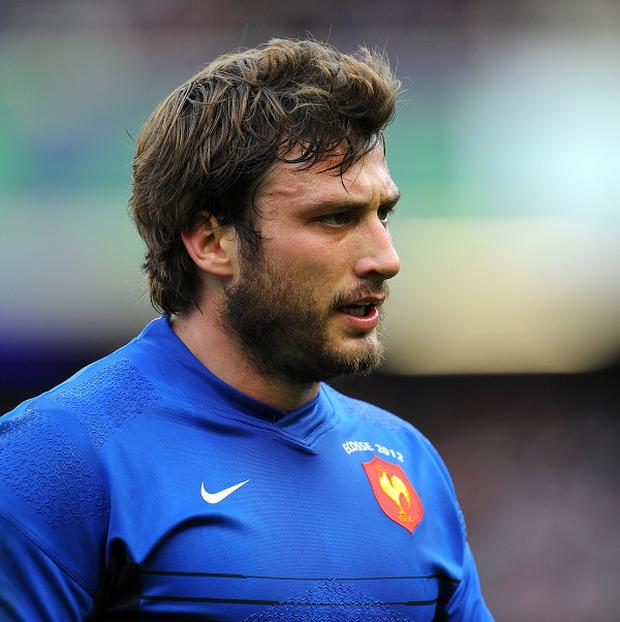 Maxime Medard, pictured, and Sebastien Vahaamahina have been named in the France squad to take on Ireland