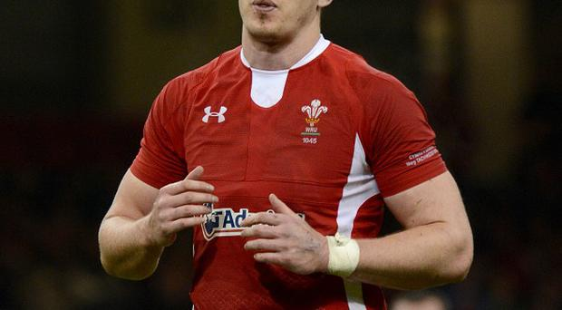 Ian Evans is hoing to start Wales' clash with Scotland next week