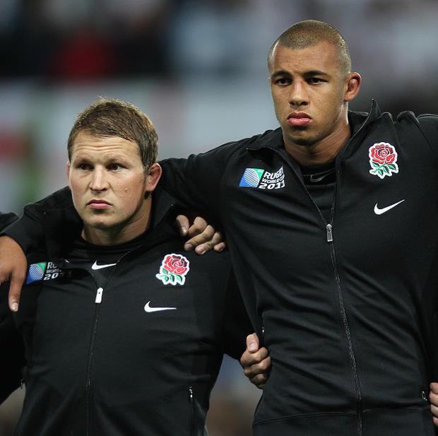 Dylan Hartley, left and Courtney Lawes were hailed by Jim Mallinder