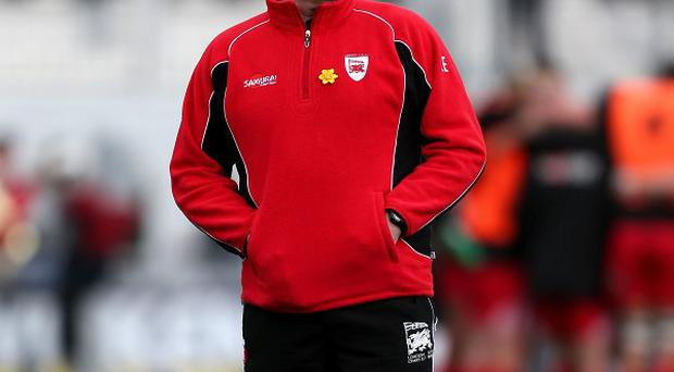 London Welsh coach Lyn Jones felt there was a lack of consistency in refereeing decisions
