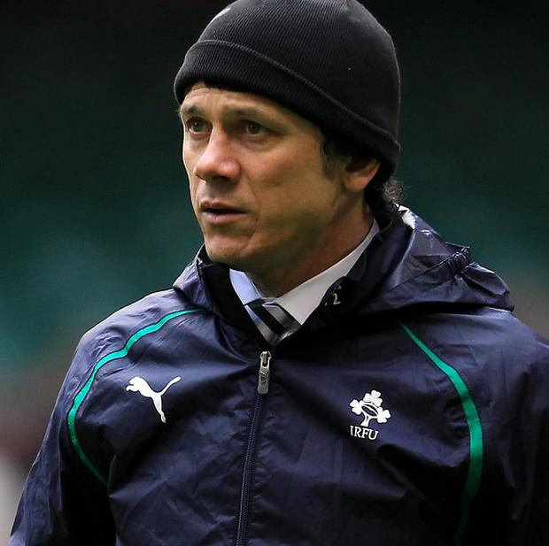 Les Kiss, pictured, believes Ronan O'Gara will bounce back