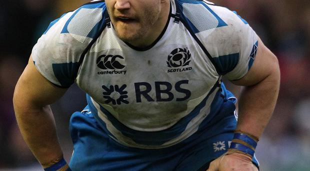 Euan Murray is in the Scotland 23 to face Wales