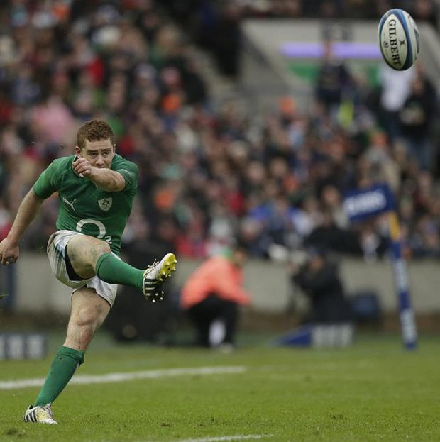 Paddy Jackson, pictured, deputised for Jonathan Sexton at Murrayfield