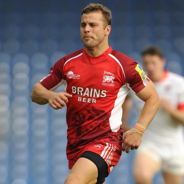 Tyson Keats is at the centre of London Welsh's disciplinary hearing