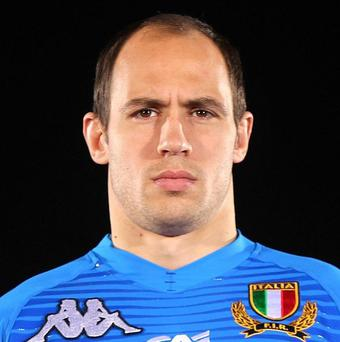 Sergio Parisse is back for Italy