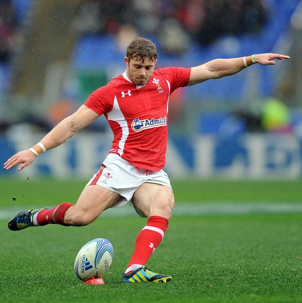 Leigh Halfpenny has amassed 184 points in 15 Tests for Wales