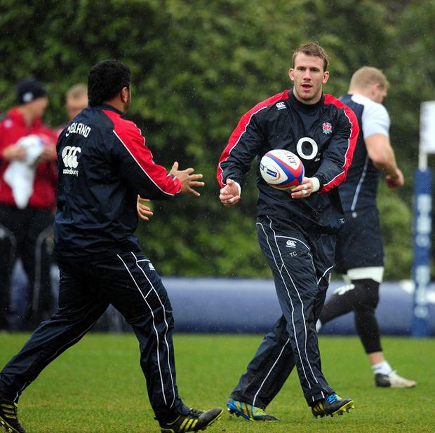 Tom Croft, right, has returned to the England squad