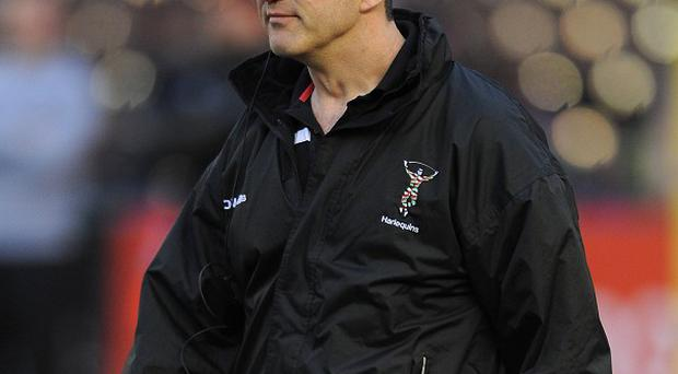 Conor O'Shea was delighted with Harlequins' victory