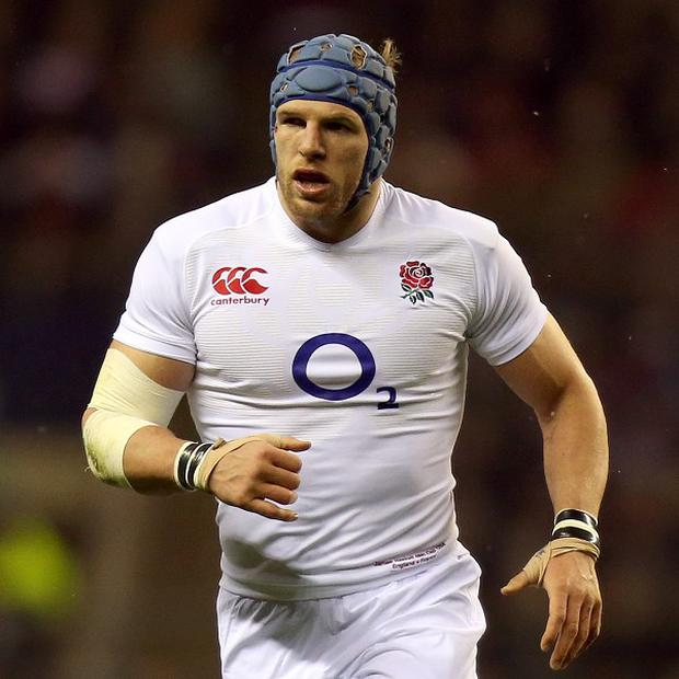 James Haskell, pictured, is ready to do battle with Italy captain Sergio Parisse
