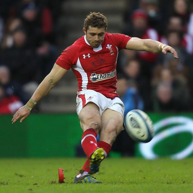 Leigh Halfpenny booted 23 points against Scotland