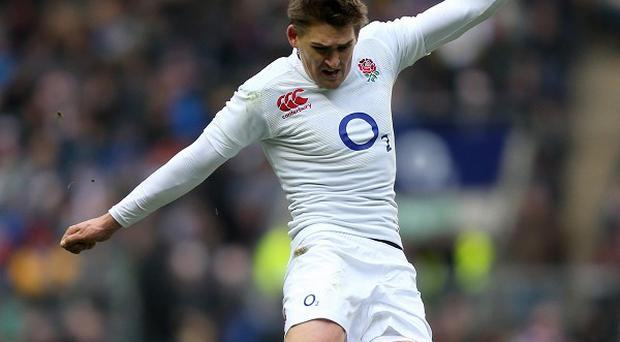 Toby Flood booted all of England's points as they beat Italy