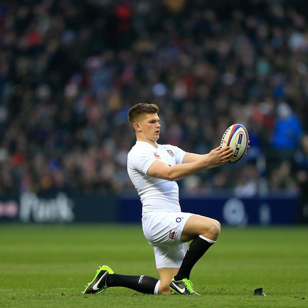 Owen Farrell has been recalled to face Wales on Saturday