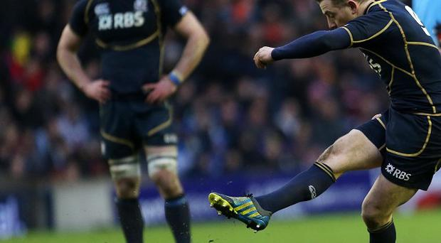 Greig Laidlaw, left, has been tipped for a Lions call-up by Duncan Weir