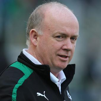 Declan Kidney's Ireland are ninth in the IRB world rankings