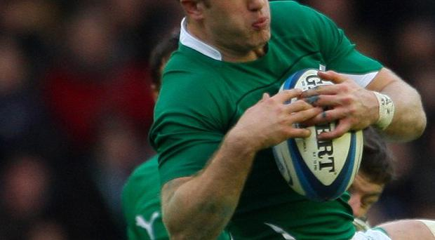 Luke Fitzgerald has a knee problem which rules him out for the season