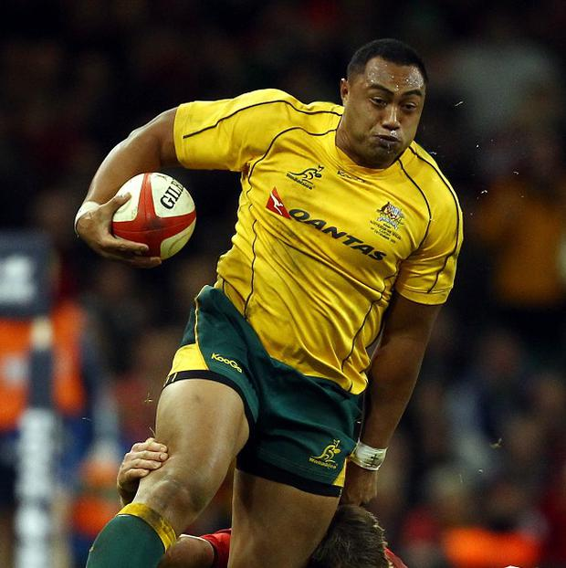 Sekope Kepu is staying in Australia