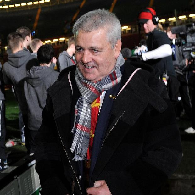 Warren Gatland was encouraged by the quality of the rugby at the RBS 6 Nations