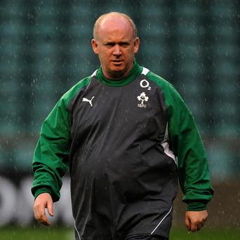 Declan Kidney's position as Ireland's head coach could be under threat