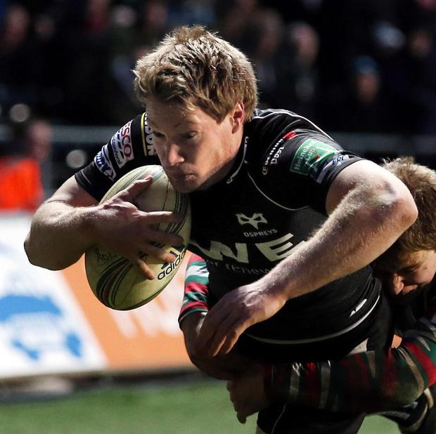 Dan Biggar claimed 18 points as Ospreys defeated Newport Gwent Dragons
