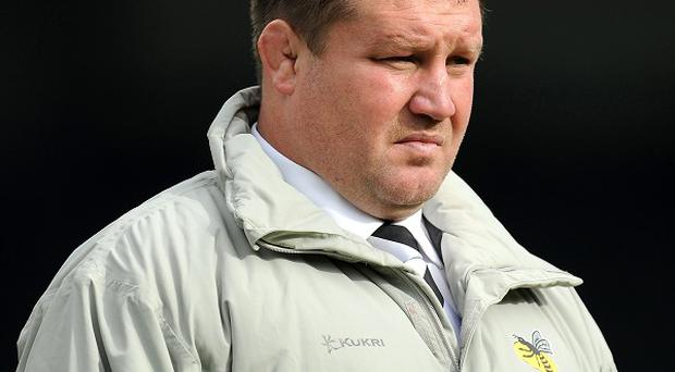 Dai Young was unhappy with the referee at Adams Park