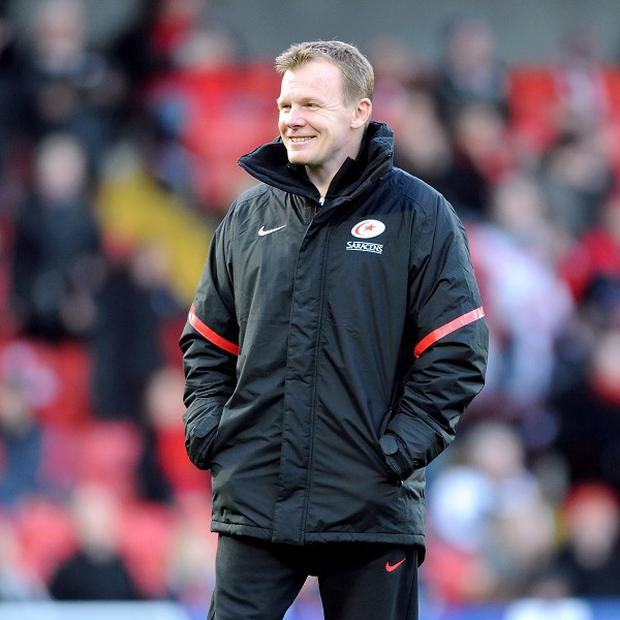 Mark McCall was delighted with his England contingent against Quins