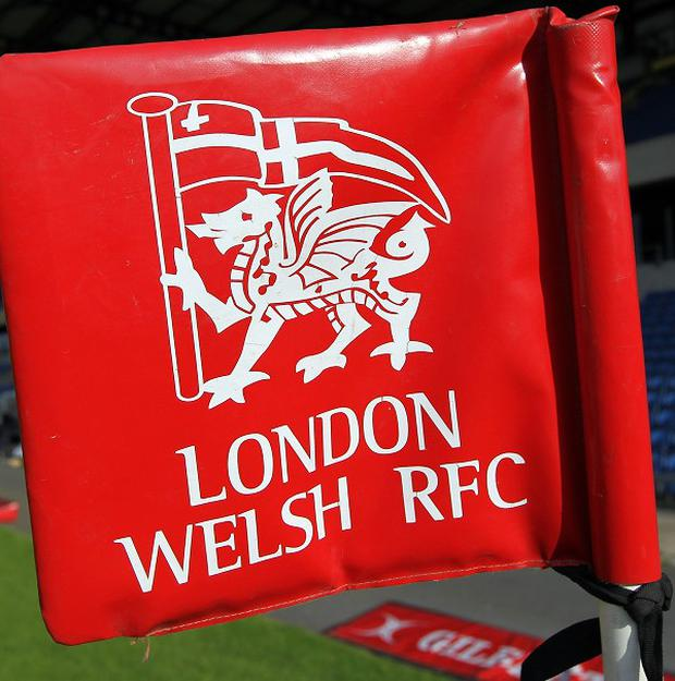 London Welsh are currently five points adrift of second-bottom Sale