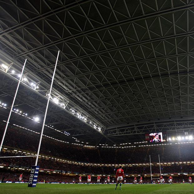 The Millenium Stadium will host two games on Saturday