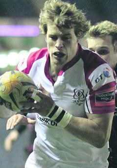 Andrew Trimble can use his experience to help UIster turn the corner