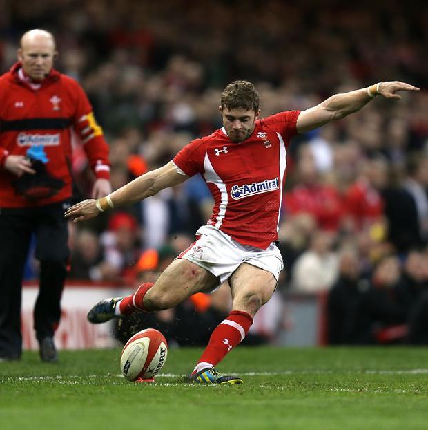 Leigh Halfpenny was named this year's RBS 6 Nations Player of the Championship
