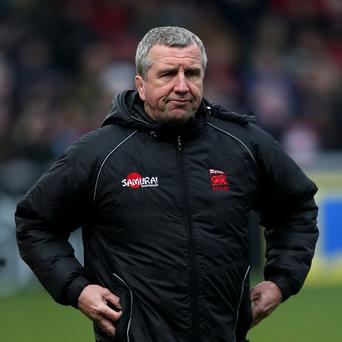 Lyn Jones was pleased with the spirit and effort of London Welsh
