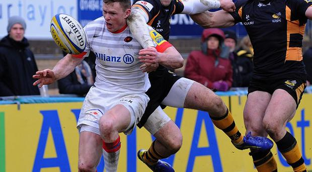 Mark mcCall was impressed with the performance of Chris Ashton, pictured
