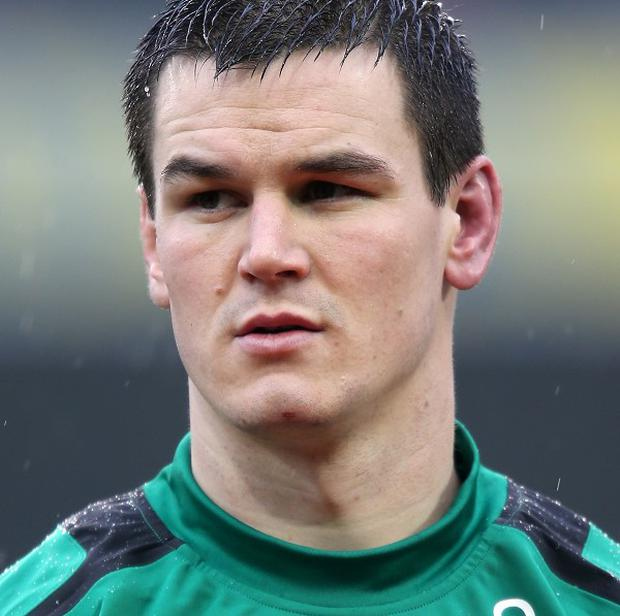 Jonathan Sexton has not played since Ireland's defeat to England in the Six Nations