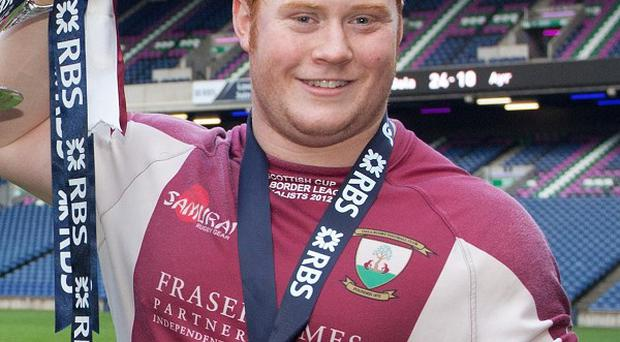 Ewan McQuillin was instrumental in Maroons' return to the top flight in 2011