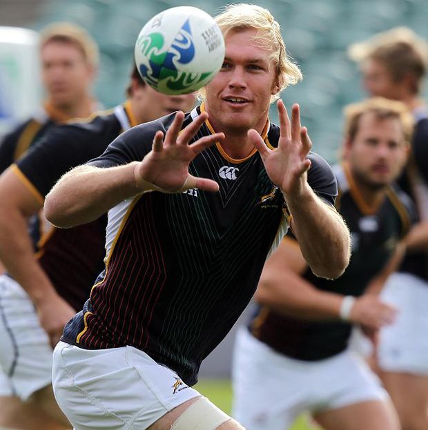 Schalk Burger has been sent home to recuperate after spending two weeks in hospital
